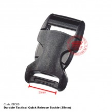 Durable Tactical Quick Release Buckle (Black, Sand) BB500