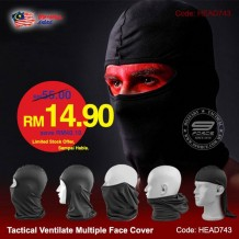 TACTICAL VENTILATE MULTIPLE FACE COVER - HEAD743