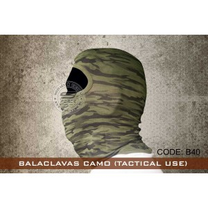 BALACLAVAS CAMO (TACTICAL USE) - B40