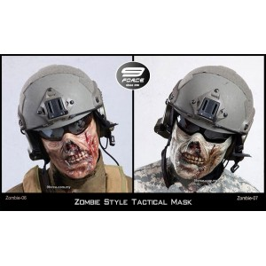 Zombie Style Tactical Mask (Zombie-06)