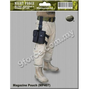 Tactical Magazine Double Pouch