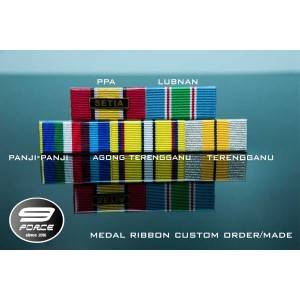 RIBBON MEDAL COLUMN 9