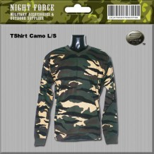 T-shirt camo long sleeve