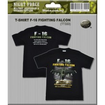 Tshirt F-16 3D (100% cotton)
