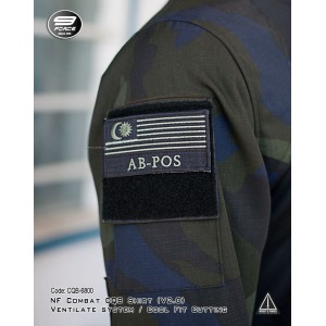 NF COMBAT SHIRT (V2.0, MORE FIT AND COMFORTABLE, PGA CAMO L/S, CQB/UBEC/FROG) - CQB6800
