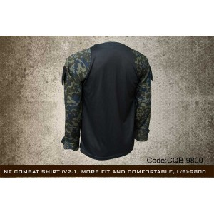 NF COMBAT SHIRT (V2.1, MORE FIT AND COMFORTABLE, L/S)-CQB9800