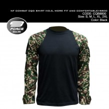 NF COMBAT SHIRT (V2.0, MORE FIT AND COMFORTABLE, DIGITAL CAMO L/S, CQB/UBEC/FROG) - CQB8800