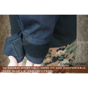 NF COMBAT SHIRT (V2.1, MORE FIT AND COMFORTABLE, L/S)-CQB3800