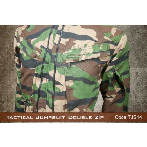Tactical Jumpsuit Double Zip