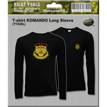 T-shirt long sleeve - Gerakhas Komando (TT409L)