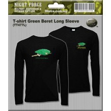 T-shirt Green Beret Long Sleeve
