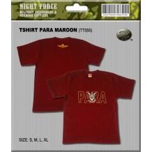 T-shirt Para Maroon