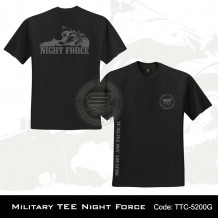 Military Tee NIGHT FORCE (Black) - TTC5200G