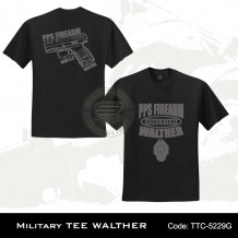 Military Tee WALTHER (Black) - TTC5229G