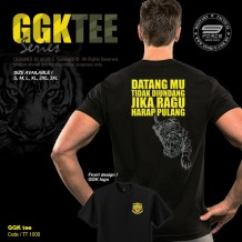 GGK Series Military Tee, Full Cotton, Gerakhas, Komando - TT1000