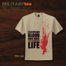 COMMANDO BLOOD WAS SHED THAT YOU MAY HAVE LIFE - TTC1245