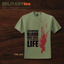 COMMANDO BLOOD WAS SHED THAT YOU MAY HAVE LIFE - TTC2244