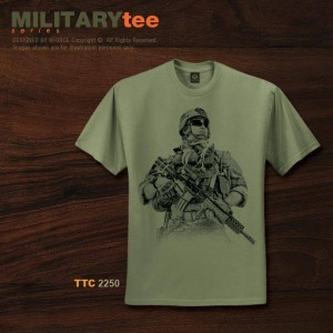 MILITARY TEE SPECIAL FORCE - TTC2250