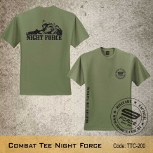 MILITARY TEE Combat Tee NIGHT FORCE - TTC200
