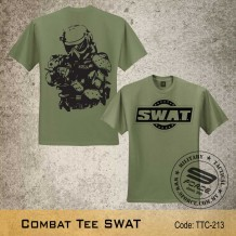 Military Tee SWAT (OD Green) - TTC213