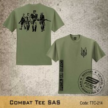 Military Tee SAS (OG Green) - TTC214
