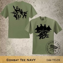Military Tee NAVY (OD Green) - TTC218