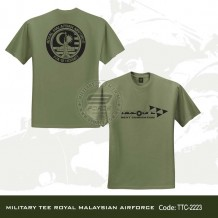 MILITARY TEE ROYAL MALAYSIAN AIRFORCE - TTC223