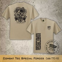 MILITARY TEE Combat Tee Special Forces, - TTC103