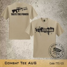 MILITARY TEE AUG, KHAKI, TTC123