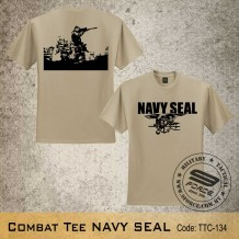 MILITARY TEE Combat Tee NAVY SEAL - TTC134