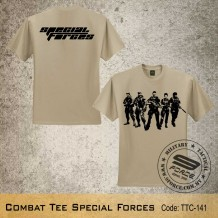 MILITARY TEE Combat Tee SPECIAL FORCES - TTC141