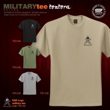 MILITARY TEE RAD LOGO - TTK105