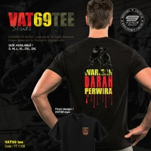 VAT69 Komando Series Military Tee, Full Cotton, Komando - TT1100