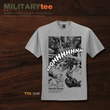 Military Tee SPECIAL FORCE (Sport Grey) - TTC3249