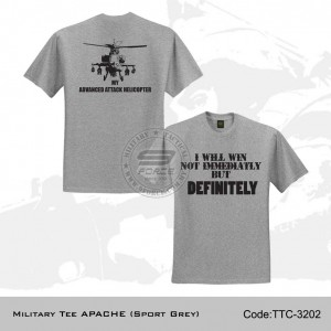 Military Tee Apache (Sports Grey) - TTC3202