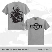 Military Tee SWAT (Sport Grey) - TTC3213