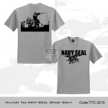 MILITARY TEE NAVY SEAL (SPORT GREY) - TTC3215