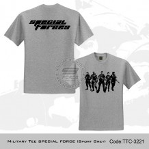 MILITARY TEE SPECIAL FORCES (SPORT GREY) - TTC3221