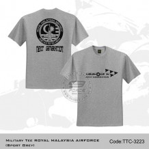 MILITARY TEE ROYAL MALAYSIAN AIRFORCE TTC3223 (SPORT GREY)