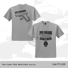 MILITARY TEE WALTHER (SPORT GREY)- TTC3229