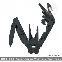 SOG B66 PowerAssist Tactical Multitool (TOOL6020)