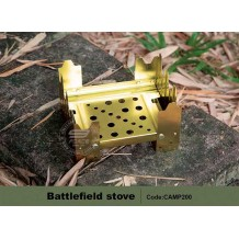 Battlefield Stove, Camping Stove, light weight (CAMP200)