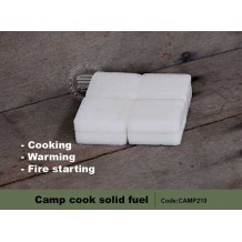 Camp Cook Solid Fuel for Battlefield Stove, 8pcs/pack (CAMP210)