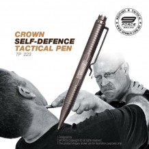 CROWN SELF-DEFENCE TACTICAL PEN - TP223