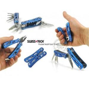 Swiss Tech Pocket Multi-Tool 12-in-1