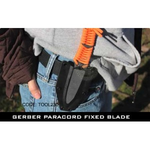 GERBER PARACORD FIXED BLADE