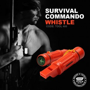 SURVIVAL COMMANDO WHISTLE - TOOL400