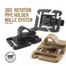 360 ROTATION PIPE HOLDER MOLLE SYSTEM - TOOL420