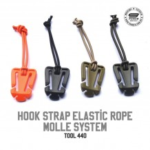 HOOK STRAP ELASTIC ROPE MOLLE SYSTEM - TOOL440