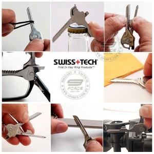 Swiss Tech Utili-key (6-in-1)